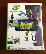 New NIB Appgear Alien JailBreak Mobile App Game  iOS & Android Ipod iPhone iPad2