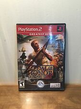 Medal of Honor: Rising Sun (Sony PlayStation 2, 2003) Greatest Hits