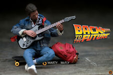 回到未來 米高霍士hot toys hottoys Marty McFly Michael J. Fox BTTF Back to the Future 1/6 MMS257 with vip Exclusive bouns parts guitar not ironman terminator