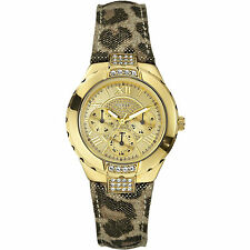 GUESS Reloj de las Mujeres Time to Give Art. W0023L1 Carcasa de acero inoxidable