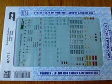 Microscale Decal HO  #87-716 BN Diesels Data