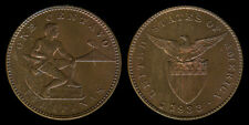 1 Centavo 1933-M US-Philippine Coin AU - Stock # 2