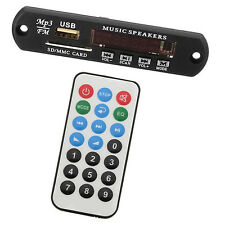 12V Car Auto Digital USB AUX Bluetooth MP3 Music Decode Board Module Radio HiFi