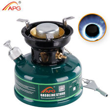 Mini Camping Gasoline Stove Non Preheating No Noise Oil Stove Burner Outdoor APG