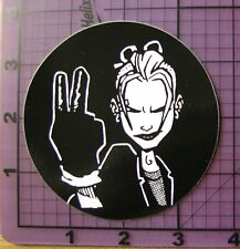 Tank Girl Vinyl Sticker Comic Punk Rock Weatherproof