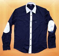 Paul & Shark polo camicia manica lunga in maglina New men's shirt long sleeve