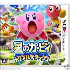 Used 3DS Kirby Triple Deluxe  NINTENDO 3DS JAPANESE  IMPORT