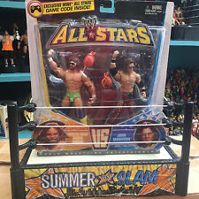 WWE Macho Man Randy Savage John Morrison Mattel Elite ALL STAR 2 pack Wrestling