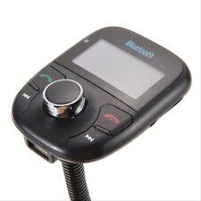 Black LCD Car Kit Bluetooth MP3 FM Transmitter SD MMC USB-Fern Modulator