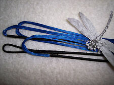 "Bow String-Blue for 52"" AMO recurve- Actual length 48"" Bowstring endless loop."