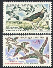France 1960 oiseaux migrateurs/conservation/canards/nature/faune 2v set (n24253)