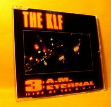 MAXI Single CD THE KLF 3 a.m. Eternal LIVE AT THE S.S.L. 3TR '91 house eurodance