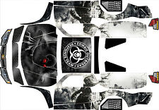 """LOSI 5IVE T 4WD TRUCK WRAP GRAPHIC DECAL STICKER KIT """"ZOMBIE"""""""