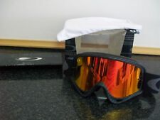 New Oakley O Frame genuine Fire Iridium Carbon Motocross Goggle goggles bmx mx