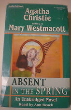 AGATHA CHRISTIE (MARY WESTMACOTT) ABSENT IN THE SPRING AUDIO CASSETTE TAPE BOOK