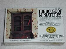"""House Of Miniatures Dollhouse Furniture Kit 1"""" Scale Closed Cabinet Top #40001"""