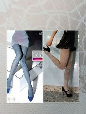 Bona by Fiore, 60 den pantyhose, Light Grey shade tights - ALL SIZES