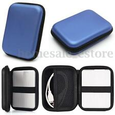 """2.5"""" External USB Hard Drive Disk HDD Carry Case PC Laptop Cover Pouch Bag Hard"""