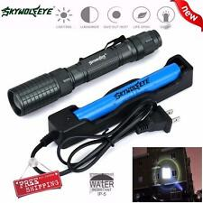 4000LM 5 Modes CREE XML T6 LED Zoom Torch Taschenlampen Lamp Light 18650&Charger