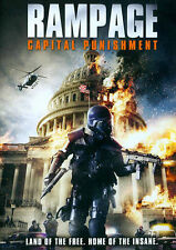 Rampage: Capital Punishment (DVD, 2014) New