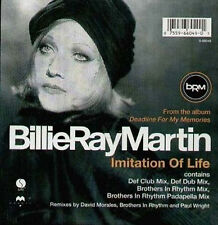 BILLIE RAY MARTIN - Imitation Of Life (Morales Remix) 1995 Magnet Ger - MAG1040T