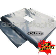 "50 x X-LARGE Grey Mailing Bags 24 x 36"" - 600x900mm"