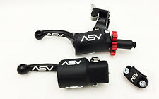 ASV F3 Shorty Black Holiday Pro Pack Adjustable Clutch Brake Lever Hot Start RMZ