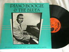 PIANO BOOGIE & THE BLUES Gene Rodgers Willie The Lion Smith Beverly White LP