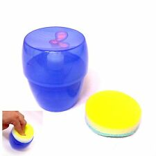 Push Pong Dish Washing Pumping Liquid Soap Dispenser With Dish Washing Sponge