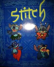 Disney * STITCH * 4 pins New in Pack Booster Set - Superhero Hula Alien