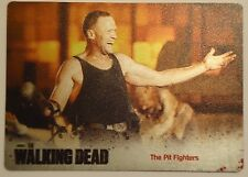 Walking Dead Season 3 #17 THE PIT FIGHTERS Standard FOUR COLOR Metal Parallel