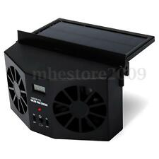Solar Sun Powered Car Auto Front / Rear Window Air Vent Cooler Fan Summer Gift