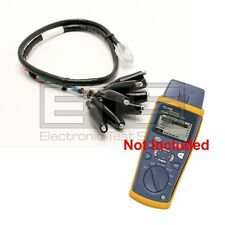 Fluke CIQ-100 Cable Qualification Tester CLIP-SET RJ45 To 8 - Clip Test Lead