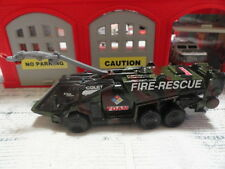 MATCHBOX FIRE COLET 30/E JAGUAR FOAM MILITARY BASE RESPONSE CUSTOM UNIT