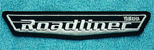 "YAMAHA  ROADLINER EMBROIDERED  IRON ON PATCH 5 1/2"" WIDE x 1"" HIGH"