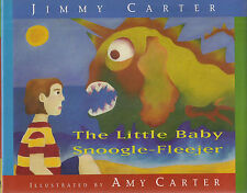 """Pres. JIMMY CARTER """"The Little Baby Snoogle-Fleejer"""" SIGNED in FINE Condition"""