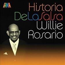 Historia de la Salsa * by Willie Rosario (CD, May-2009, Fania)