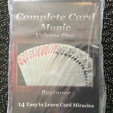 Complete Card Magic- ORIGINAL 7 Volume Set on 7 DVD's- From Beginner to Expert!