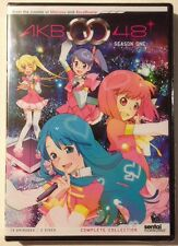 AKB0048: Season One Complete Collection - MINT NEW DVDS Free First Class In U.S.