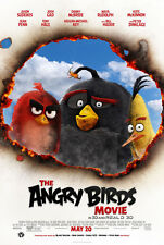ANGRY BIRDS MOVIE POSTER 2 Sided ORIGINAL FINAL VF 27x40 JASON SUDEIKIS