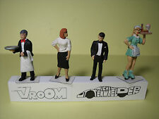 4  FIGURINES 1/43  ASSORTIMENT  A3  ASSORTMENT  VROOM  4  UNPAINTED  FIGURES