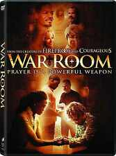 SEALED - War Room DVD NEW 2015 Alex Kendrick SHIPS TODAY !