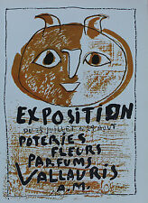 Pablo Picasso Lithograph Exposition Poteries Fleurs Parfum II First Edition 1957