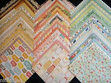 12x12 Scrapbook Paper Best of American Crafts Stack Pad 60 Wholesale Lot Kit