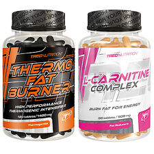 Thermo Fat Burner 120 Tabl. + L-Carnitine Complex 90 Tabl. Weight Loss Slimming