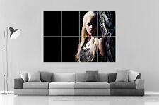 GAMES OF THRONES DAENERYS Wall Art Poster Grand format A0 Large Print