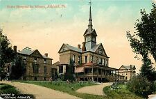 1907-1915 Postcard; State Hospital for Miners, Ashland PA Schuylkill Co. Posted
