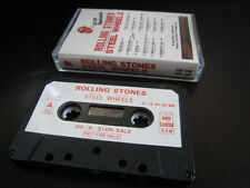 Rolling Stones Steel Wheels Japan Promo Cassette Tape Mick Jagger Keith Richard