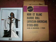 NOIR ET BLANC Barbie 2003 AA RARE