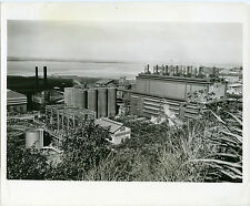 Set of 4 photos of Nickel Mine in Nicaro Cuba dating from the 1940s.